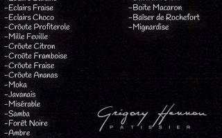Gregroy Hennau Pâtissier - Pâtisserie